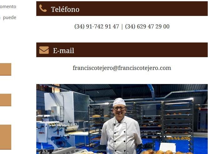 web para profesionales hosteleros panaderos