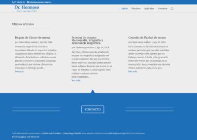 diseno web clinica ginecologica Diseño paginas web