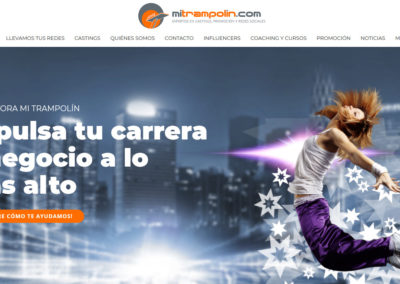 diseno web coaching spots Diseño paginas web