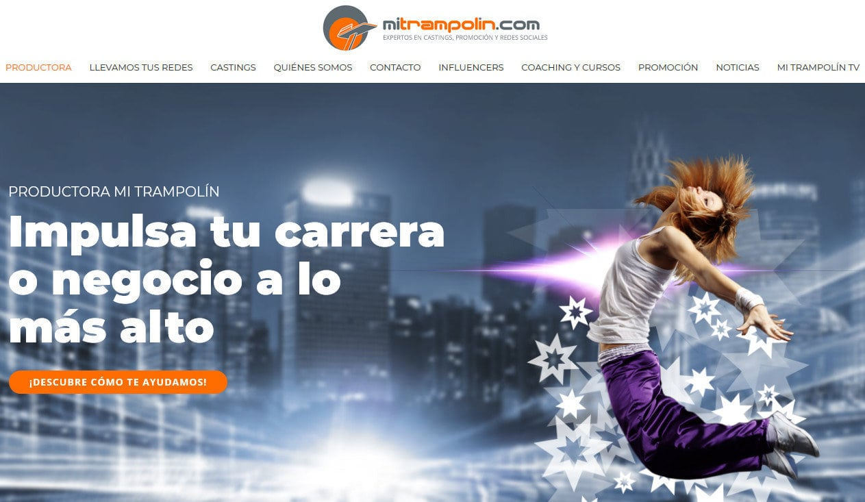 diseno web coaching spots