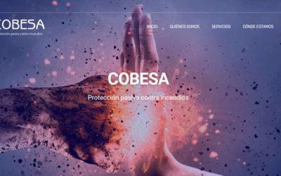 Diseño pagina web para empresa madrileña de servicios contra incendios instalaciones y mantenimiento