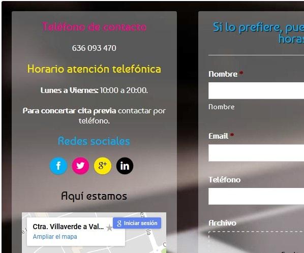 web imprenta Madrid
