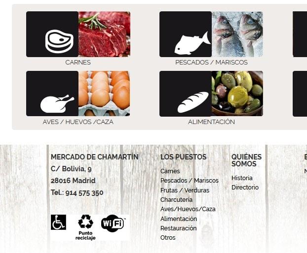 diseño web Mercado