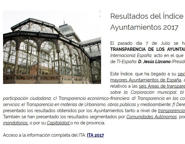 organización internacional web