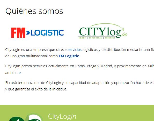 paginas para logistica empresas