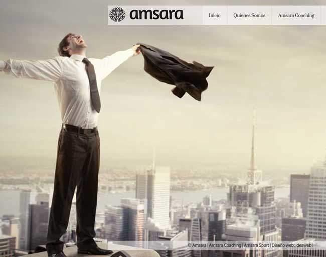 Diseño de página web corporativa para grupo de empresas