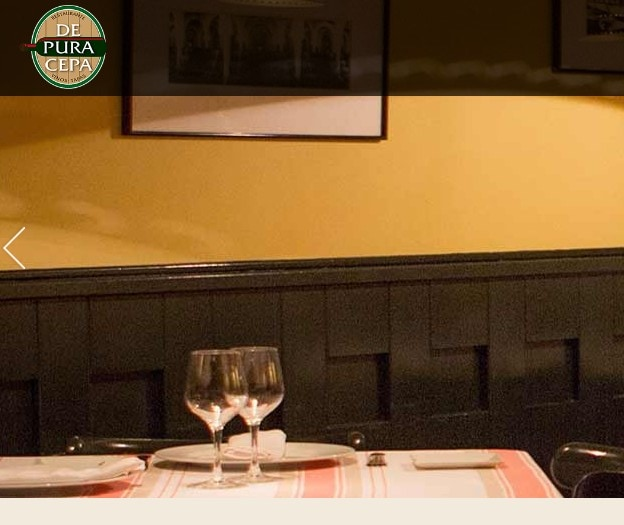 Diseño de página web para restaurante en Madrid
