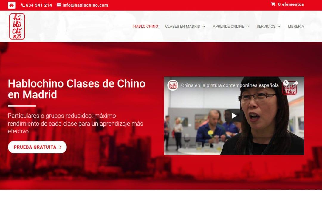 Diseño web academia de idiomas, cursos y clases para empresas y particulares.