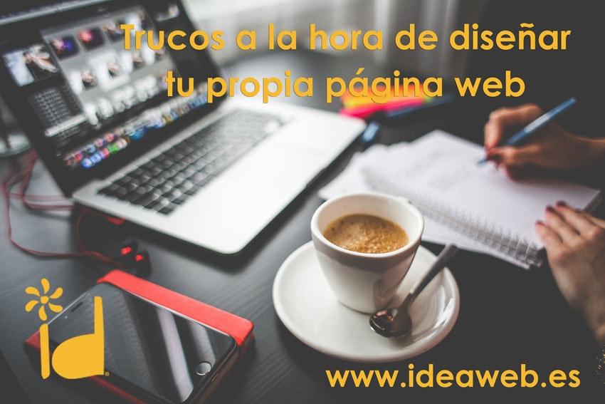 trucos diseño paginas web