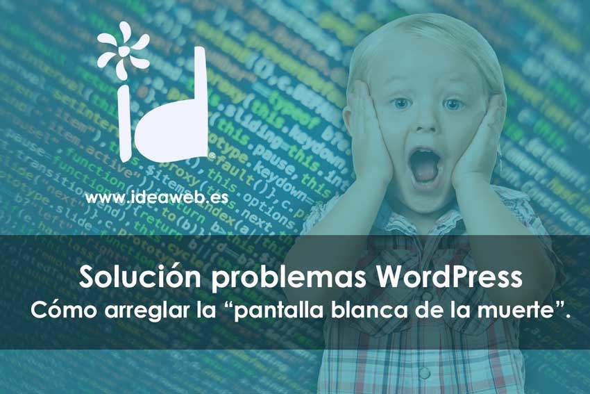 Wordpress Pantalla Blanca