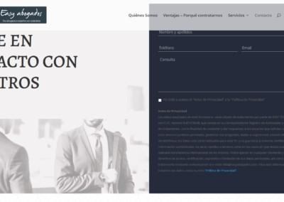 diseno contacto web madrid Diseño paginas web