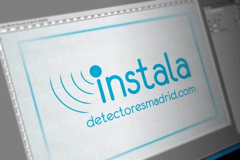 Diseño de logotipo para instaladores electricistas en Madrid