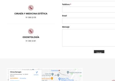 diseno pagina web clinica estetica madrid Diseño paginas web