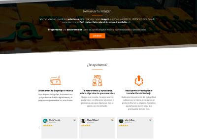 Diseno Pagina Web Empresa Artes Graficas