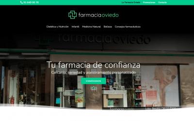 Diseño De Página Web Para Farmacia En Madrid