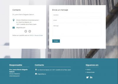 Diseno Pagina Web Investigacion Salud