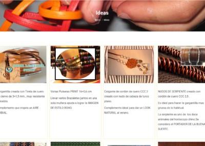diseno pulseras gargantillas pendientes web Diseño paginas web