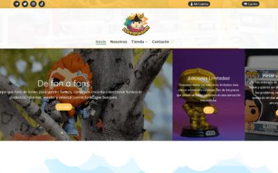 Nuevo Diseño De Tienda Online Para Venta De Merchandising, Colecciones Y Fan Products