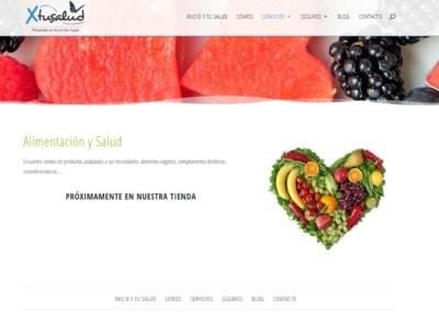 Diseno Web Alimentacion Salud