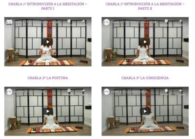 diseno web clases online yoga meditacion Diseño paginas web