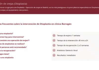 diseno web clinica cirugia madrid Diseño paginas web