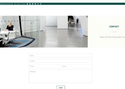 diseno web contact dentist training dentista Diseño paginas web