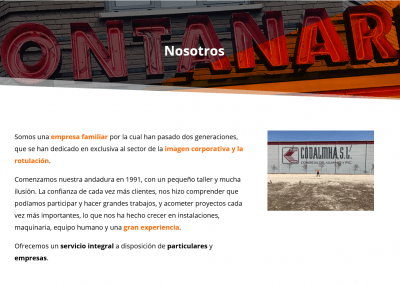 Diseno Web Empresa Madrid