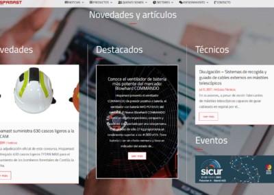 diseno web empresa suministros industriales Diseño paginas web