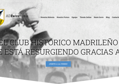 Diseno Web Equipo Futbol