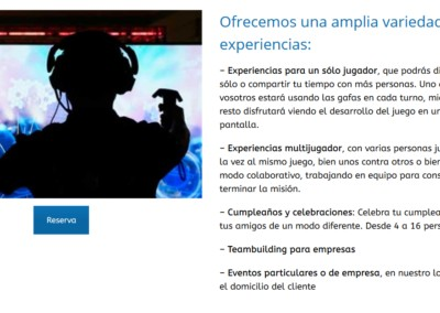 Diseno Web Experiencia Virtual