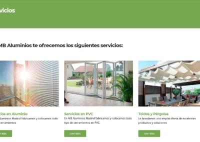 Diseno Web Fabricacion Aluminio Pvc