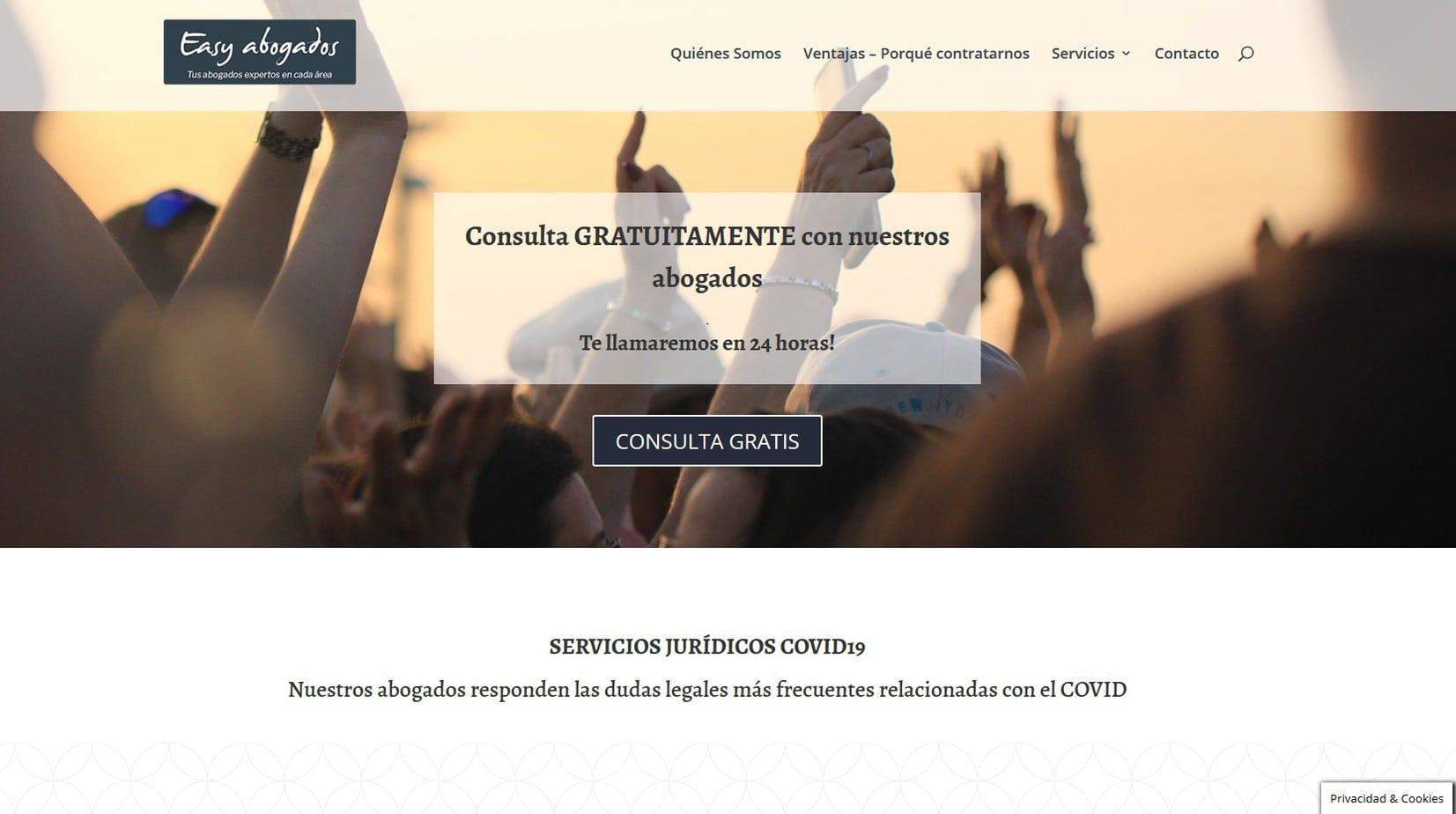 diseno web madrid abogados