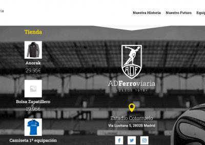 Diseno Web Madrid Futbol