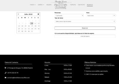 diseno web madrid restaurante gastrobar Diseño paginas web