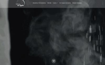 Diseño pagina Web para Restaurante en Valdemoro