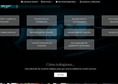 Diseno Web Servicios Automovil Restauracion