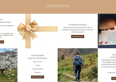 diseno web turismo extremadura Diseño paginas web