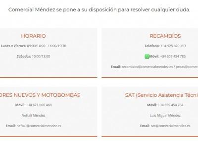 Empresa Recambios Pagina Web