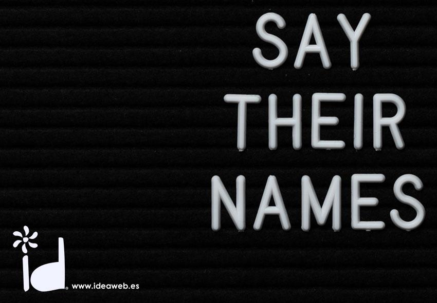 Naming, sin nombre no eres nadie