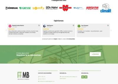 Fabricacion Toldos Mamparas Web Madrid