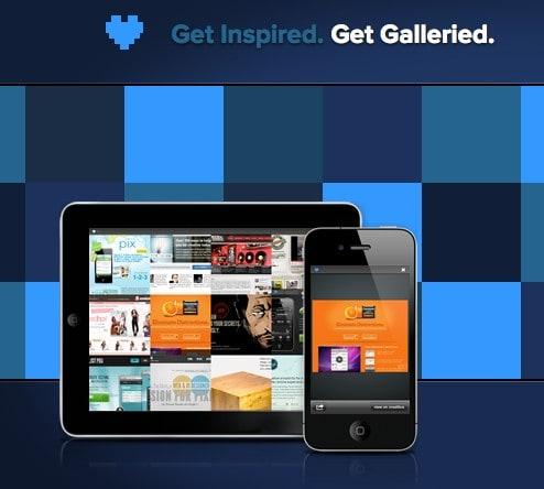 Galleried. Encuentra inspiración para tus próximos desarrollos web