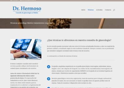 ginecologo mahon diseno web Diseño paginas web