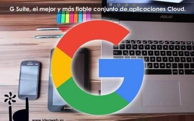 G Suite de Google™. El más fiable y completo servicio de correo, ofimática, nube y mucho más para tu empresa o negocio.