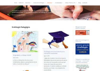 Grafologia Pedagogica Web Disenadores