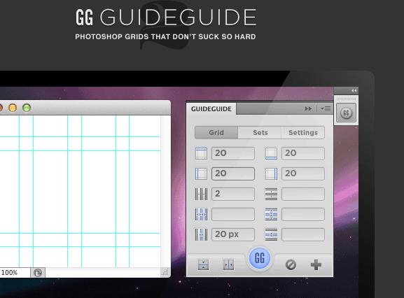 Excelente herramienta para crear guías en photoshop