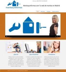 hacer paginas web Madrid