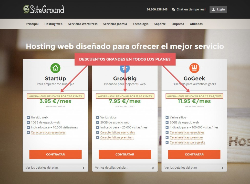 mejor hosting WordPress