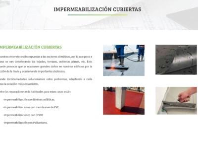 impermezbilizacion humedades saneamineto diseno web Diseño paginas web