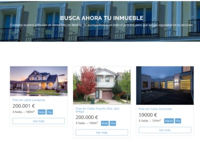 Inmuebles Venta Alquiler Web Madrid