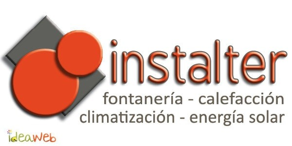 Rediseño del logotipo para empresa de calefacción, climatización, energía solar y fontanería